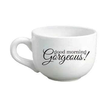 Good Morning Gorgeous Cappuccino Mug