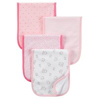 Just One You by Carter's - Baby 4 Pack Burp Cloth Set