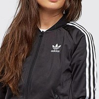Tagre™ Adidas Women Men Sport Cardigan Coat Casual Jacket Windbreaker Sweatshirt