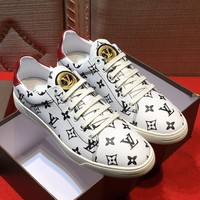 Louis Vuitton Fashion Casual Flats Shoes