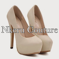 Sexy Women's Pumps With Stiletto and Round Toe Design #8998779