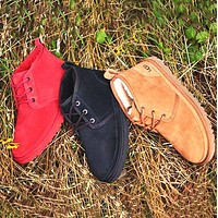 UGG new mid-cut Martin boots fashion wool snow boots non-slip warm shoes men and women snow shoes 6