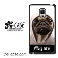 New Design Funny Hilarious Pug Life Parody Fans For Samsung Galaxy Note Edge Case Phone Case Gift Present