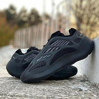 Adidas Yeezy 700 V3 breathable trendy fashion lightweight men and women luminous sneakers shoes