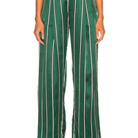Maggie Marilyn Love Unconditionally Pant in Jade Stripe | FWRD