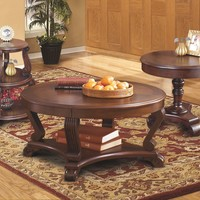 Brookfield Occasional Tables - Round End, Sofa, Chair Side End or Round Cocktail Table