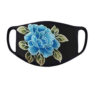 Haneen Face Mask - Blue Rose