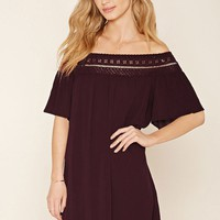 Contemporary Gauze Shift Dress