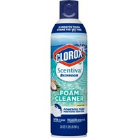 Clorox Scentiva Coconut Bathroom Aerosol Foaming Cleaner - 20oz