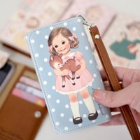 Paper Doll Smartphone Wallet