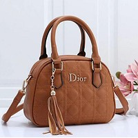 DIOR Newest Popular Women Leather Tote Crossbody Satchel Shoulder Bag Handbag