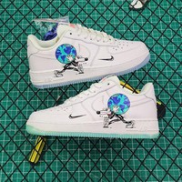 Steven Harrington X Nike Air Force 1 Low Flyleather Qs Earth Day Sneakers DCCK