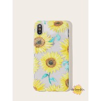 Sunflowers On The Go iPhone Case