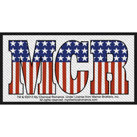 My Chemical Romance Men's Americana Woven Patch Multi