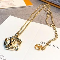 LV Louis Vuitton New Fashion Lady Pendant Necklace