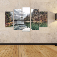 Full color decal Modular image nature sticker,Modular image wall art decal gc442