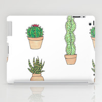 A Study in Cactus 1 iPad Case by Suzz In Colour