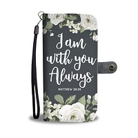 """With You"" Wallet Phone Case"