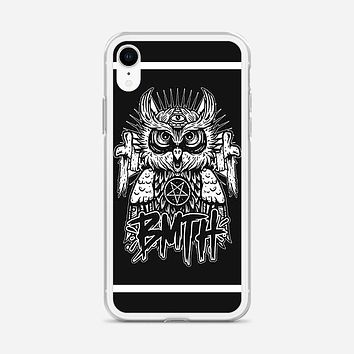 Bring Me The Horizon Owl Logo iPhone XR Case