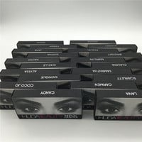 Huda Beauty 3D MINK False Eyelashes Messy Cross Thick Natural Fake Eye Lashes Professional Makeup Bigeye Eye Lashes Handmade