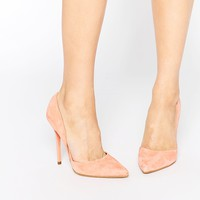 Steve Madden Varcitty Suede Heeled Court Shoes at asos.com