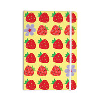 """Jane Smith """"Seasons Summer"""" Yellow Red Everything Notebook"""