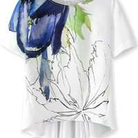 Chic Floral Tee - OASAP.com