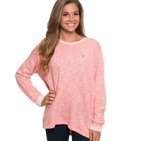 Southern Shirt Company Terry Cloth Pullover in Desert Rose 2C002-91