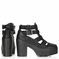 ARCADE Cut Out Chunky Boots