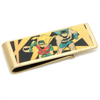 Batman And Robin Vintage Money Clip
