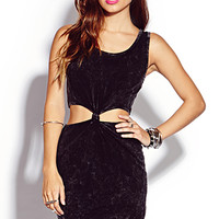 Mineral Wash Bodycon Dress | FOREVER 21 - 2000074996