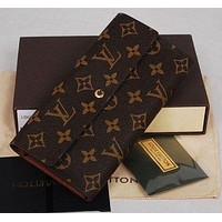 Louis Vuitton LV classic men and women long multifunctional wallet card holder