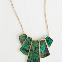 Statement Happily Ever Abalone Necklace by ModCloth