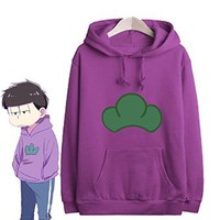 Manga SIX SAME FACES Konya wa Saikou Mr.Osomatsu San ED Candy Jacket Hoodie