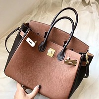 Hermes Newest Popular Women Leather Handbag Tote Crossbody Shoulder Bag Satchel 1021