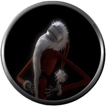 Santa Clause Jolly Jack Skellington Halloween Town Nightmare Before Christmas 18MM - 20MM Charm for Snap Jewelry