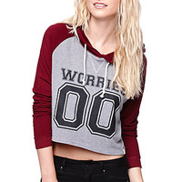 LA Hearts Crop Hoodie at PacSun.com
