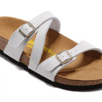 Men's and Women's BIRKENSTOCK sandals Salina Birko-Flor 632632288-063