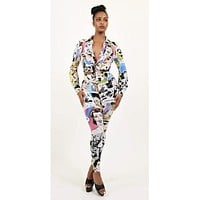 Ijey Multi Print Two Piece Set