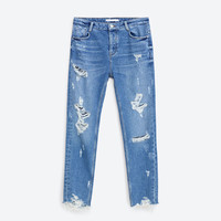 SLOUCHY JEANS - IN SUMMER-TRF | ZARA United States