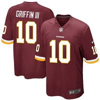 Robert Griffin III Youth Jersey Washington Redskins NFL Jersey (alphabet number is Sewn)