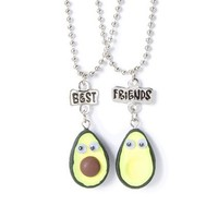 Best Friends Googly Eyes Avocado Pendant Necklaces – Claire's