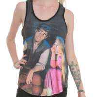 Disney Tangled Dreaming Couple Girls Tank Top 2XL