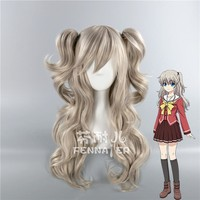 Charlotte Tomori Nao Cosplay Wig Ponytails Halloween Cosplay Role Play
