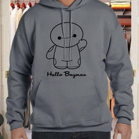 hello baymax for men and woman, hoodie for men and woman