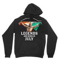 Legends Are Born In July - Connor McGregor Hoodie
