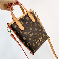 Louis Vuitton LV Monogram Tote Crossbody Shoulder bag