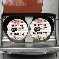 Oh My My-Funny Coaster For Car