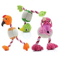 Bird Shape Squeaky Chewing Dog Toy