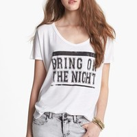 Project Social T 'Bring On the Night' Graphic Tee (Juniors) | Nordstrom